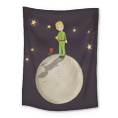 The Little Prince Medium Tapestry by Valentinaart