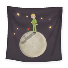 The Little Prince Square Tapestry (large) by Valentinaart