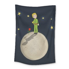 The Little Prince Small Tapestry by Valentinaart