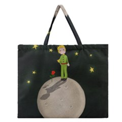 The Little Prince Zipper Large Tote Bag by Valentinaart