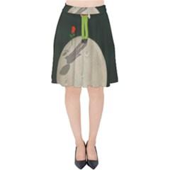 The Little Prince Velvet High Waist Skirt