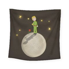 The Little Prince Square Tapestry (small) by Valentinaart