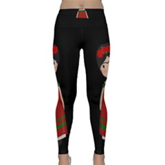 Frida Kahlo Doll Classic Yoga Leggings by Valentinaart