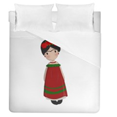 Frida Kahlo Doll Duvet Cover (queen Size) by Valentinaart