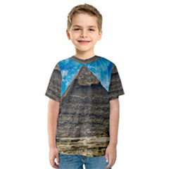Pyramid Egypt Ancient Giza Kids  Sport Mesh Tee by Celenk