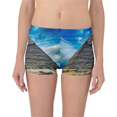 Pyramid Egypt Ancient Giza Boyleg Bikini Bottoms by Celenk