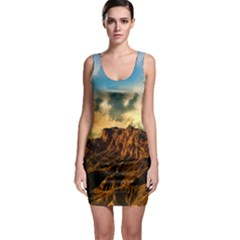 Mountain Sky Landscape Nature Bodycon Dress by Celenk