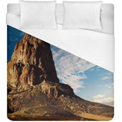 Mountain Desert Landscape Nature Duvet Cover (king Size)