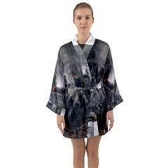 Apocalypse War Armageddon Long Sleeve Kimono Robe