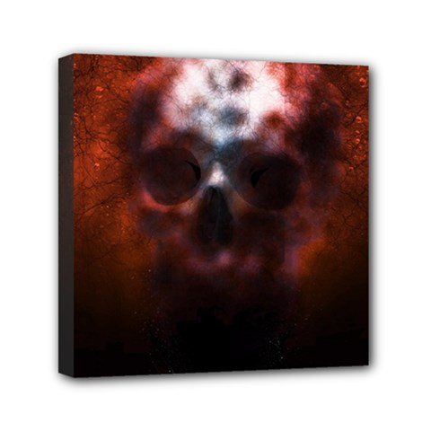 Skull Horror Halloween Death Dead Canvas Travel Bag by Celenk