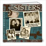 Sister 8x8 Photobook - 8x8 Photo Book (20 pages)