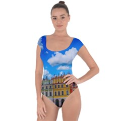 Buildings Architecture Architectural Short Sleeve Leotard  by Celenk