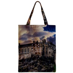 Castle Monument Landmark Zipper Classic Tote Bag by Celenk