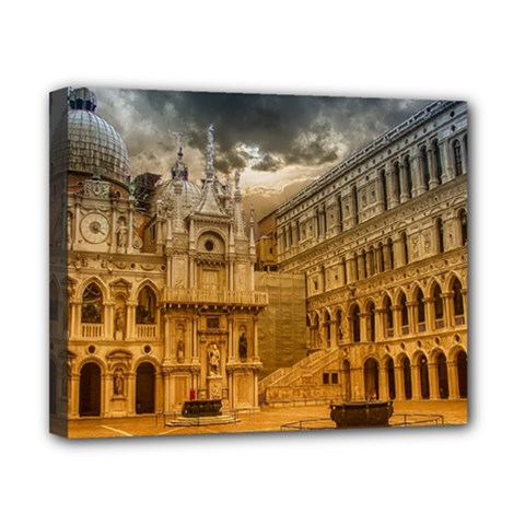 Palace Monument Architecture Canvas 10  X 8  by Celenk