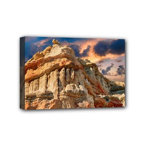 Canyon Dramatic Landscape Sky Mini Canvas 6  X 4  by Celenk