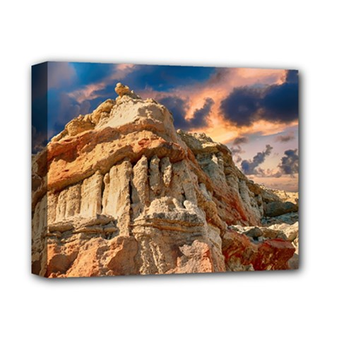 Canyon Dramatic Landscape Sky Deluxe Canvas 14  X 11