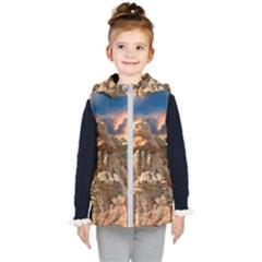 Canyon Dramatic Landscape Sky Kid s Puffer Vest by Celenk