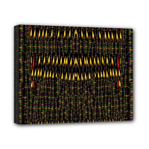 Hot As Candles And Fireworks In The Night Sky Canvas 10  X 8  by pepitasart