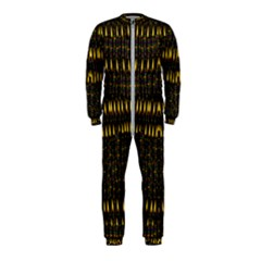 Hot As Candles And Fireworks In The Night Sky Onepiece Jumpsuit (kids)