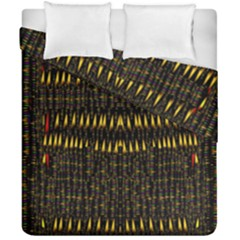 Hot As Candles And Fireworks In The Night Sky Duvet Cover Double Side (california King Size) by pepitasart