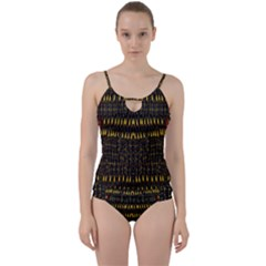 Hot As Candles And Fireworks In The Night Sky Cut Out Top Tankini Set