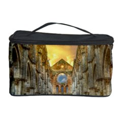 Abbey Ruin Architecture Medieval Cosmetic Storage Case by Celenk