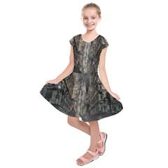Destruction War Conflict Death Kids  Short Sleeve Dress