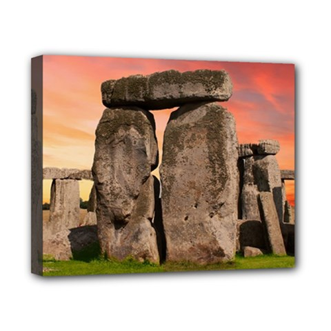 Stonehenge Ancient England Canvas 10  X 8  by Celenk