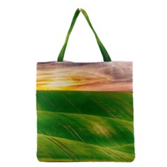 Hills Countryside Sky Rural Grocery Tote Bag by Celenk