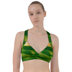 Hills Countryside Sky Rural Sweetheart Sports Bra