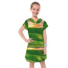Hills Countryside Sky Rural Kids  Drop Waist Dress