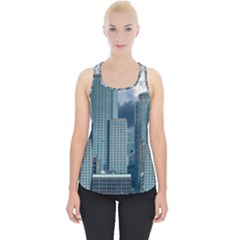 Tower Blocks Skyscraper City Modern Piece Up Tank Top