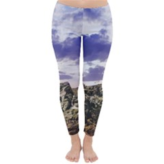 Mountain Snow Landscape Winter Classic Winter Leggings
