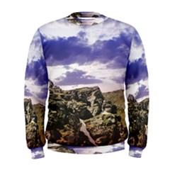 Mountain Snow Landscape Winter Men s Sweatshirt