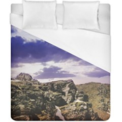 Mountain Snow Landscape Winter Duvet Cover (california King Size)