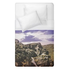 Mountain Snow Landscape Winter Duvet Cover (single Size)