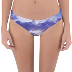 Mountain Snow Landscape Winter Reversible Hipster Bikini Bottoms