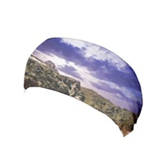 Mountain Snow Landscape Winter Yoga Headband