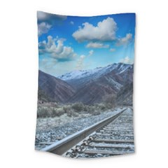 Nature Landscape Mountains Slope Small Tapestry