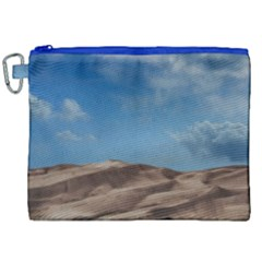 Sand Dune Desert Landscape Dry Canvas Cosmetic Bag (xxl) by Celenk