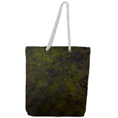 Green Background Texture Grunge Full Print Rope Handle Tote (large) by Celenk