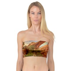Canyon Desert Rock Scenic Nature Bandeau Top by Celenk