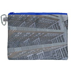 Ducting Construction Industrial Canvas Cosmetic Bag (xxl) by Celenk