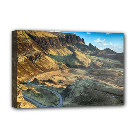 Nature Landscape Mountains Outdoor Deluxe Canvas 18  X 12