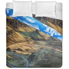 Nature Landscape Mountains Outdoor Duvet Cover Double Side (california King Size) by Celenk