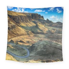 Nature Landscape Mountains Outdoor Square Tapestry (large)