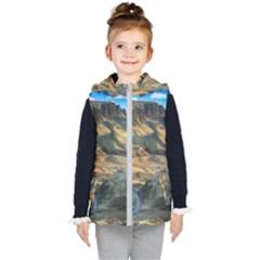 Nature Landscape Mountains Outdoor Kid s Puffer Vest