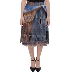 Banjo Player Outback Hill Billy Folding Skater Skirt