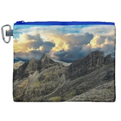 Landscape Clouds Scenic Scenery Canvas Cosmetic Bag (xxl)