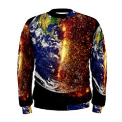Climate Change Global Warming Men s Sweatshirt